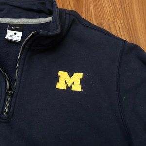Nike Shirts - [Nike] Michigan Quarter Zip Sweatshirt